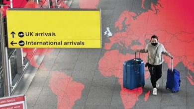 Holidays: Red list of countries with mandatory UK hotel quarantine to expand on Monday