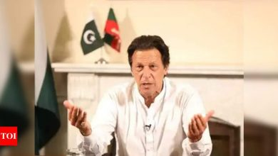 Imran Khan wins trust vote amid opposition boycott - Times of India