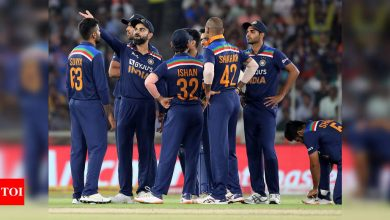 India fined for slow over-rate in fifth T20I against England | Cricket News - Times of India