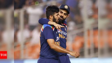 India fined for slow over-rate in second T20I against England | Cricket News - Times of India