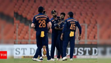 India vs England 4th T20I: How smart bowling strategies helped India level the series | Cricket News - Times of India