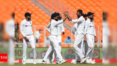 India vs England, 4th Test: India crush England, win series 3-1, seal World Test Championship final spot | Cricket News - Times of India