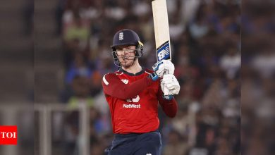 India vs England: India 'class team', but we are confident of bouncing back, says Jason Roy | Cricket News - Times of India