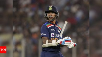 India vs England: Pressure builds on Shikhar Dhawan to retain his spot | Cricket News - Times of India
