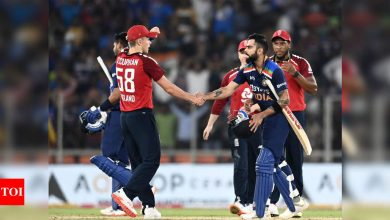 India vs England: Remaining T20Is in Ahmedabad to be played behind closed doors due to COVID-19 | Cricket News - Times of India