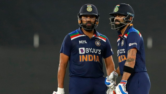 Rohit Sharma and Virat Kohli's big-hitting performance saw India to an unassailable total. Sportzpics