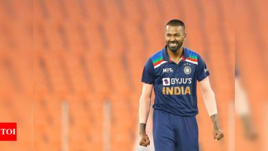 India vs England: Wanted to break the jinx of batting first and winning in this series, says Hardik Pandya | Cricket News - Times of India