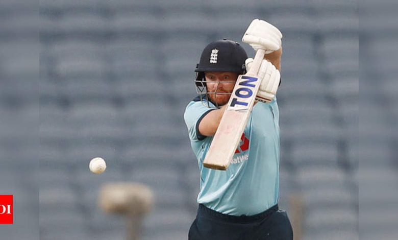 India vs England: We didn't capitalise on key periods in the first ODI, says Bairstow | Cricket News - Times of India