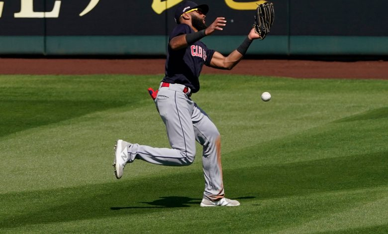 Indians' Amed Rosario experiment off to a horrendous start