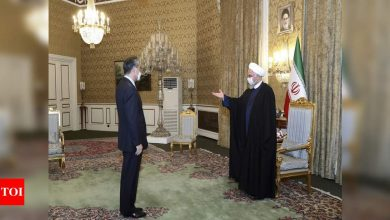 Iran-China to sign 25-year cooperation pact: Tehran - Times of India