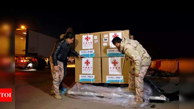 Iraq receives first Covid vaccines, gift from China - Times of India