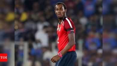 Jofra Archer keeps pressure on, forces teams to attack other bowlers: Mark Wood | Cricket News - Times of India