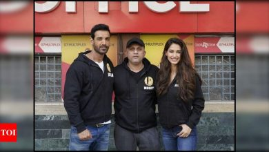John Abraham and Disha Patani start shooting for Mohit Suri's 'Ek Villain Returns'; see pictures - Times of India