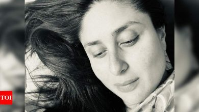 Kareena Kapoor Khan can't stop staring at her newborn son and fans want a glimpse too - Times of India