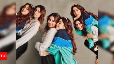 Khushi Kapoor's cutest birthday wish for sister Janhvi Kapoor, shares priceless childhood dance video - Times of India