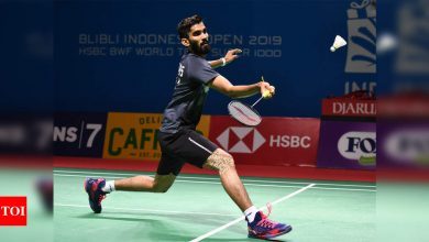 Kidambi Srikanth outlasts Sameer Verma in Swiss Open opening round | Badminton News - Times of India