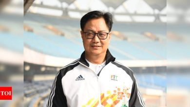Kiren Rijiju bats for hosting Olympics in India   More sports News - Times of India