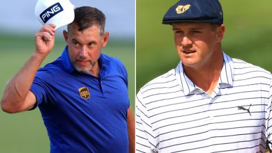 Lee Westwood and Bryson DeChambeau II taking place at Players
