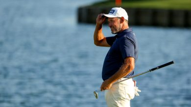 Lee Westwood content with second best at Players Championship