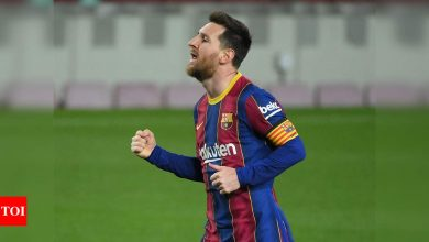Lionel Messi:  Ronald Koeman hails Messi as Barcelona's all-time most important player   Football News - Times of India