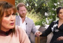 Lorraine Kelly attacks Meghan and Harry's Oprah interview as 'unnecessary' and 'sad'