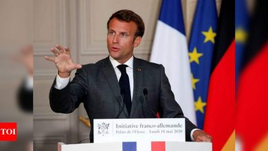 Macron orders Covid-19 lockdown across all of France, closes schools - Times of India