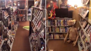 Man builds video rental store in basement — complete with porn section