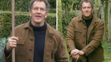 Monty Don says working with plants is 'a deeply sensuous thing' after awkward question