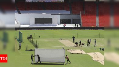 Motera pitch for two-day Test given 'average rating', 'very good' for T20 International: ICC | Cricket News - Times of India