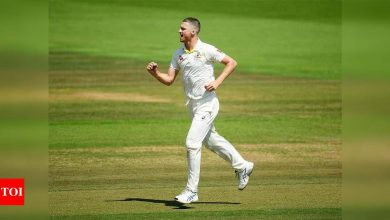 NSW all out for 32 as Jackson Bird wreaks havoc in Hobart | Cricket News - Times of India