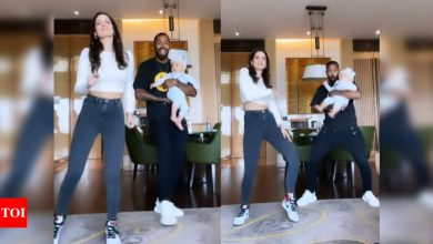 Natasa Stankovic takes up the Don't Rush challenge, daddy Hardik Pandya groves with son Agastya – watch video - Times of India