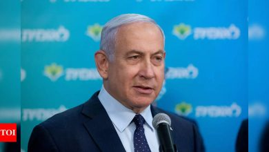 Netanyahu accuses Iran of attacking Israeli-owned cargo ship - Times of India