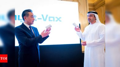 New UAE plant to make Covid-19 vaccine from China's Sinopharm - Times of India