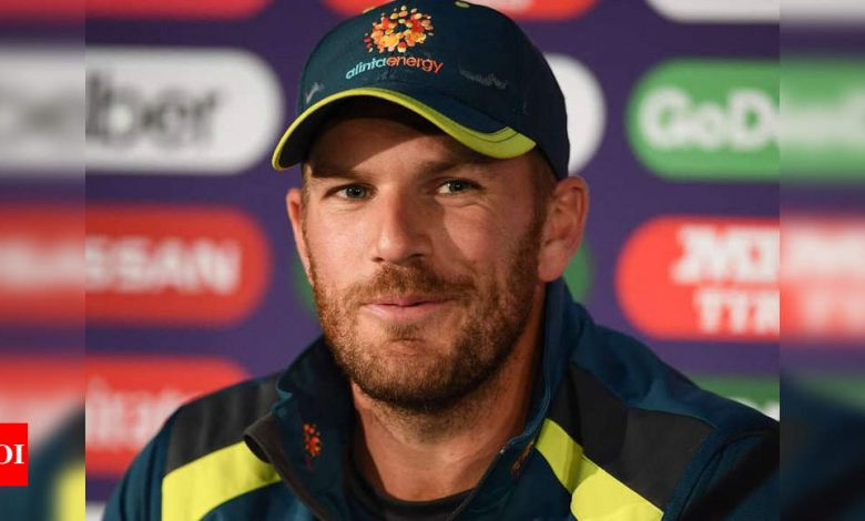 New Zealand vs Australia: Aaron Finch relishing fans return for T20I decider | Cricket News - Times of India