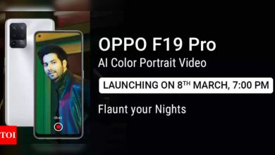 Oppo F19 Pro+ 5G, F19 Pro 5G to launch in India on March 8 - Times of India