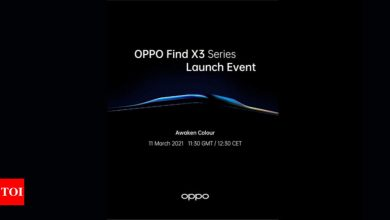 Oppo Find X3 Pro to launch on March 11, confirms company - Times of India