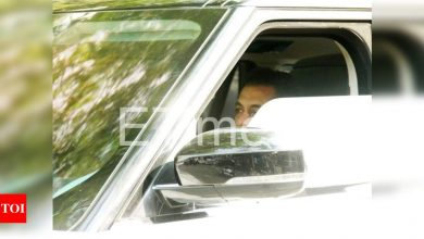 PHOTO: Salman Khan gets papped as he steps out in the city - Times of India