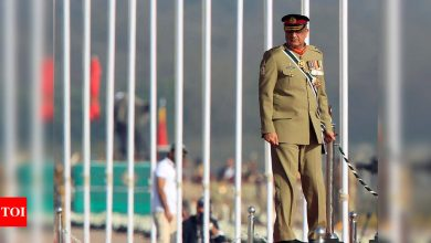 Pakistan army chief General Qamar Javed Bajwa says it's time for India and Pakistan to bury the past and move forward - Times of India