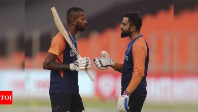 Part of workload management: Kohli on Hardik not bowling in ODIs against England | Cricket News - Times of India