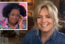 Penny Lancaster: Loose Women's Charlene White apologises to Rod Stewart's wife for error