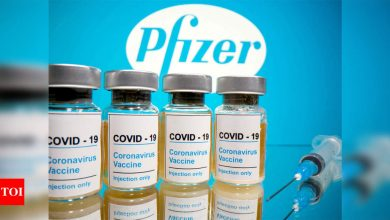 Pfizer jab 97 per cent effective against symptomatic Covid: Study - Times of India