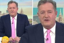 Piers Morgan fires back after being called out for not using late dad's surname