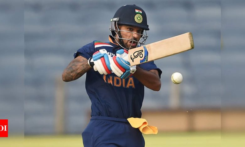Pressure is always there in international cricket, I know how to handle it: Shikhar Dhawan | Cricket News - Times of India