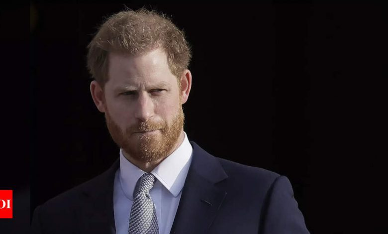 Prince Harry joins coaching startup as chief impact officer - Times of India