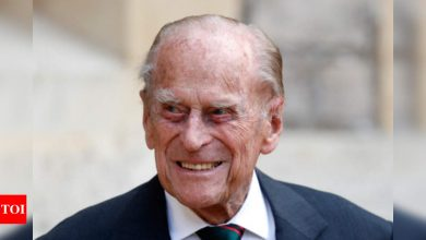 Prince Philip Health: Camilla says hospitalized Prince Philip is 'slightly' better | World News - Times of India