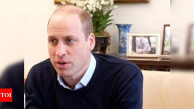Prince William named 'World's Sexiest Bald Man', social media outraged - Times of India