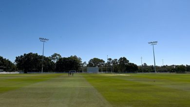 Queensland-South Australia abandoned without ball bowled