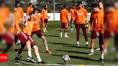 Real Madrid closer to full strength for Champions League game against Atalanta   Football News - Times of India