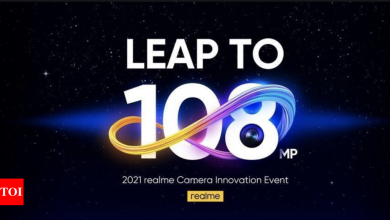 Realme 8 Pro to come with 108MP camera, other camera features also revealed - Times of India