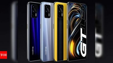 Realme GT 5G smartphone with Snapdragon 888 processor to launch in India soon, hints company - Times of India